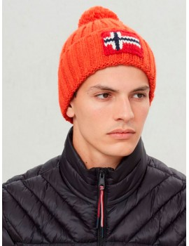 Gorro Napapijri Semiury sparkle orange